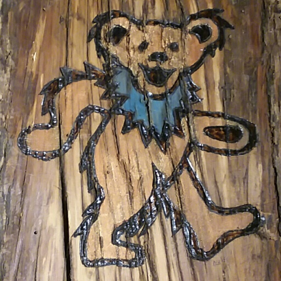 Rob\'s WoodBurning Other | Grateful Dead Wall Decor | Poshmark
